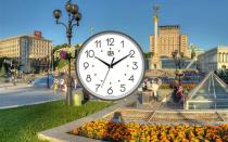 Онлайн время в Киеве